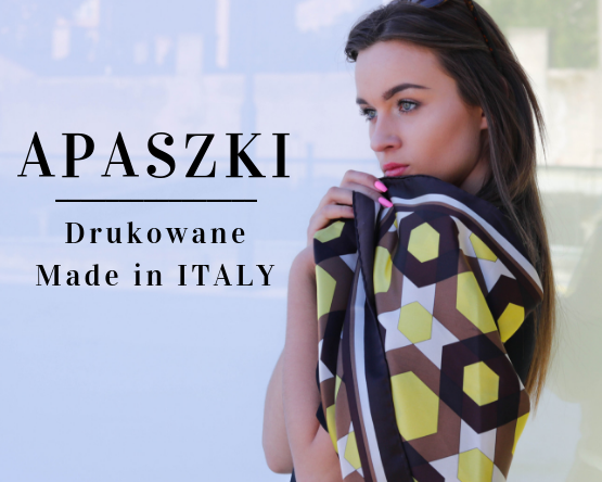 Apaszki drukowane Made in Italy